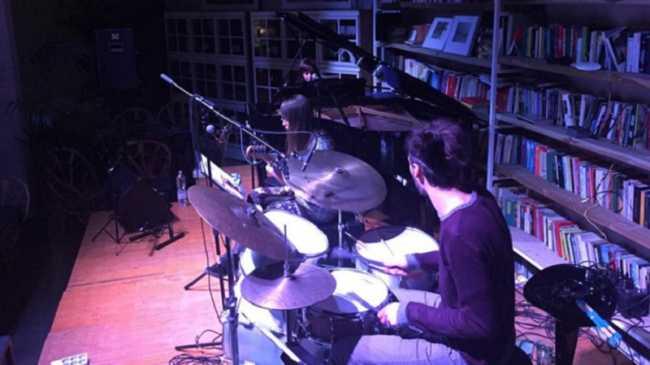 Canova Trio Garage Moulinski palco