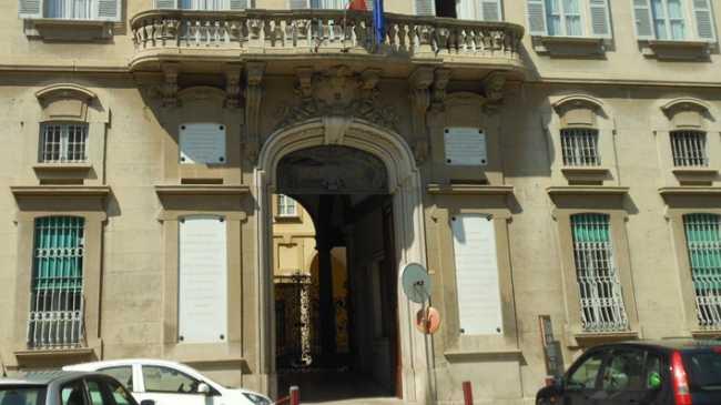 Novara Palazzo Bellini sede Banca Popolare