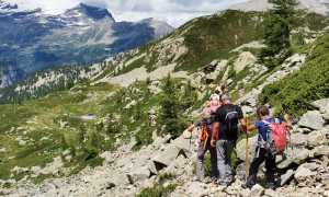 Tschawinerhorn fabbri montagna escursione gita sentiero