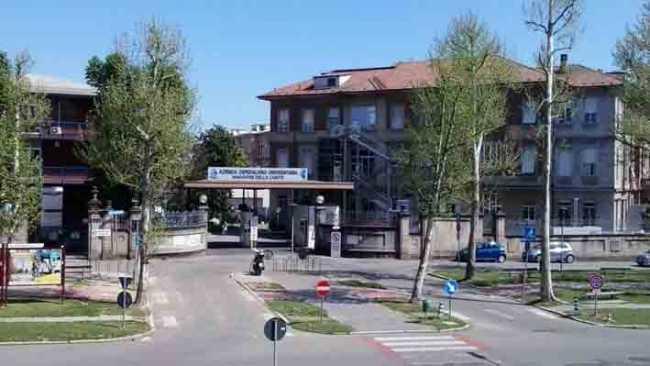 novara ospedale fronte