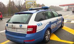 polizia autogrill autostrada